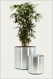 Standard stainless steel planter