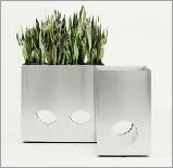 Onlogo stainless steel planter