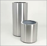 Standard Topper stainless steel planter